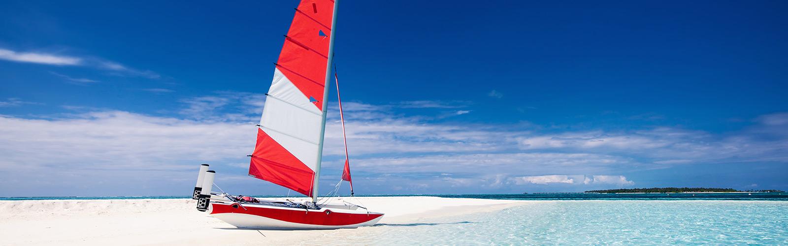 Catamaran sailing Maldives Watersports